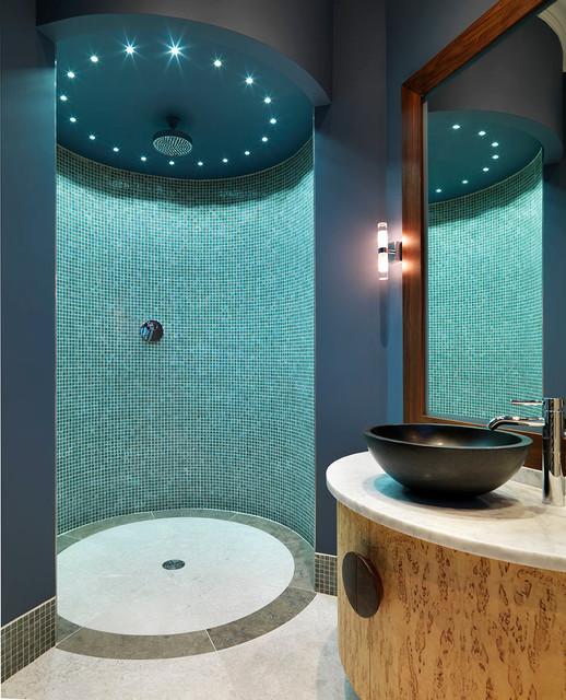 Tudor manor house contemporary bathroom other by for Tudor bathroom ideas