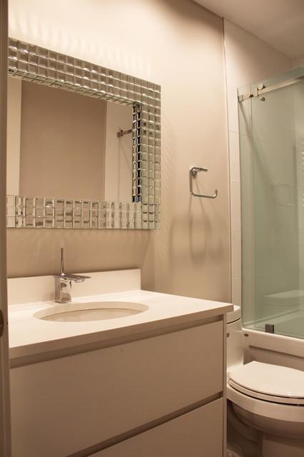 Tudor north vancouver custom home contemporary for Tudor bathroom design