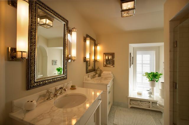 Tudor on the point traditional bathroom minneapolis for Tudor bathroom design