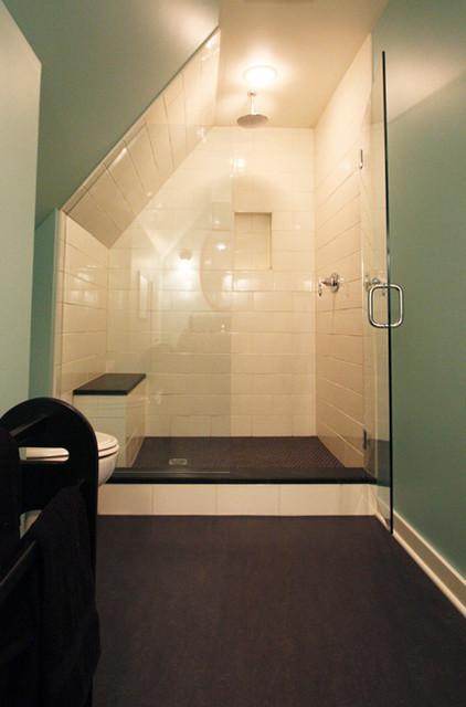 Tudor Remodel Modern Bathroom Portland By Hammer