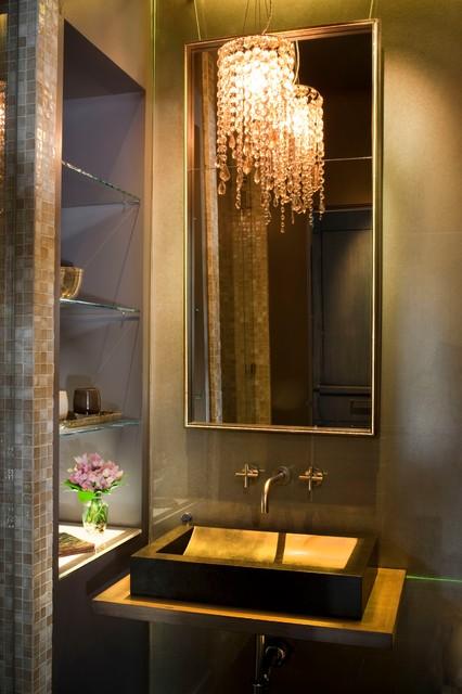 Tudor Revisited traditional-bathroom