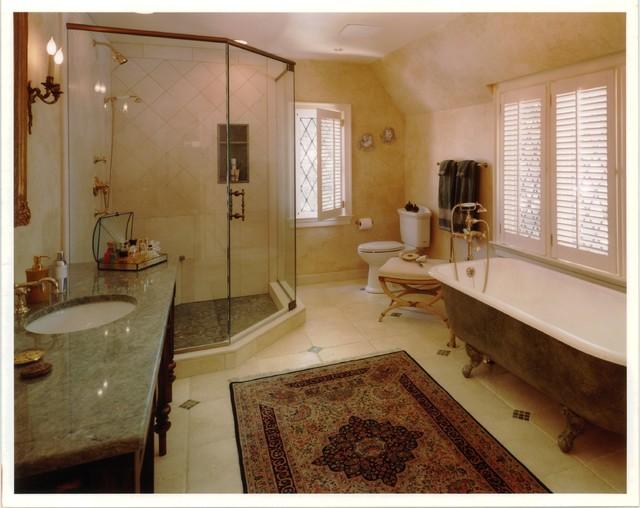Tudor style rochambeau road for Tudor bathroom design