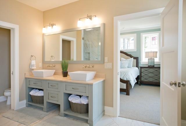 tupelo beach style bathroom grand rapids by visbeen architects - Beach Style Bathroom