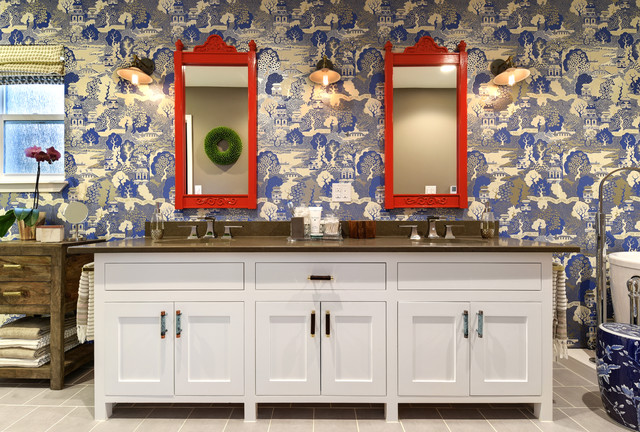 Baños Estilo Asiatico:Asian-inspired Master Bathroom