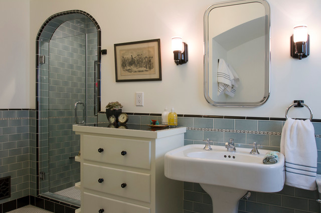 Turquoise Bathroom Spanish Bathroom Mediterranean Bathroom Los Angeles By Design Vidal
