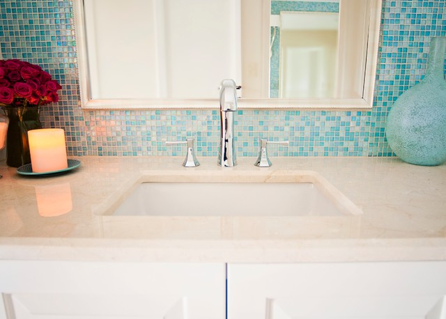 turquoise tiles bathroom turquoise glass tile spa bath traditional bathroom 14838