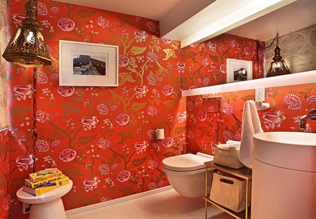 Turquoise LA Interior Design - Venice contemporary-bathroom