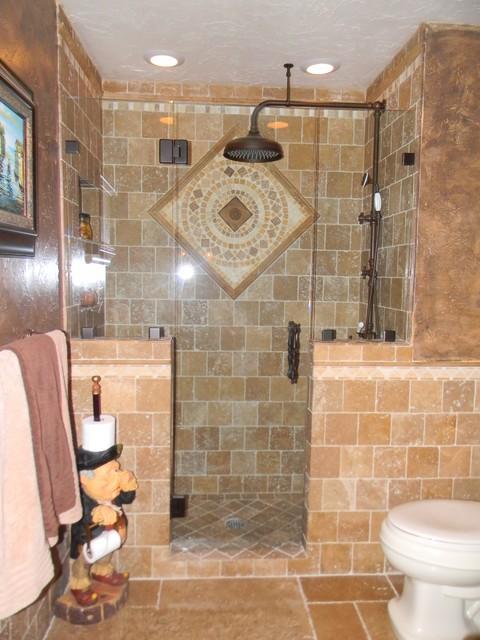 Tuscan Bath Mediterranean Bathroom Tampa By
