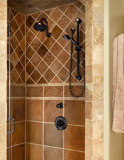 Tuscan Bathroom Design Traditional Bathroom Dallas