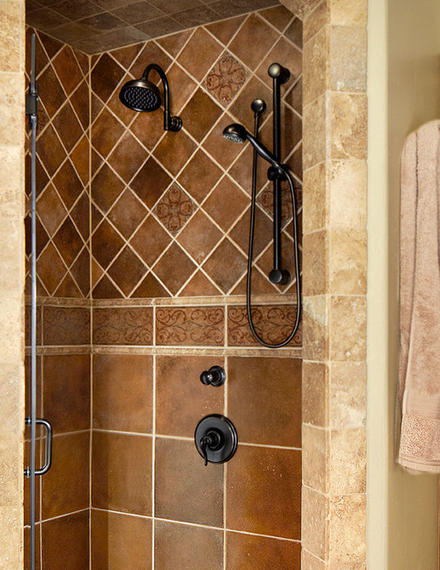 Good Tuscan Bathroom Design Traditional Bathroom