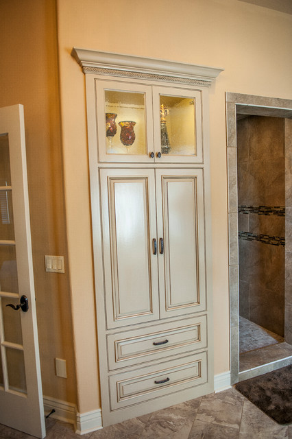 Tuscan Bathrooms - Mediterranean - Bathroom - Other - by Cabinet Concepts by Design