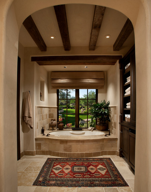 Paradise valley home 1 mediterranean bathroom for Decor valley international inc