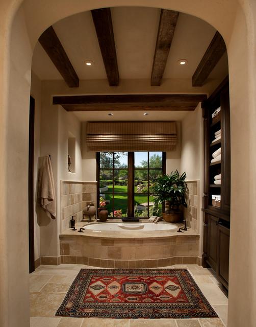 Paradise Valley Home #1 mediterranean-bathroom