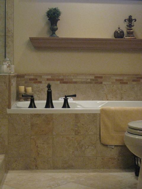 Tuscan - master bathroom traditional-bathroom