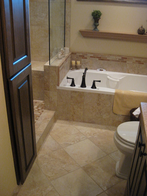 Tuscan - master bathroom