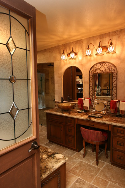 Tuscan Master Bath Traditional Bathroom Other By Cab I Net Design Remodel Specialists