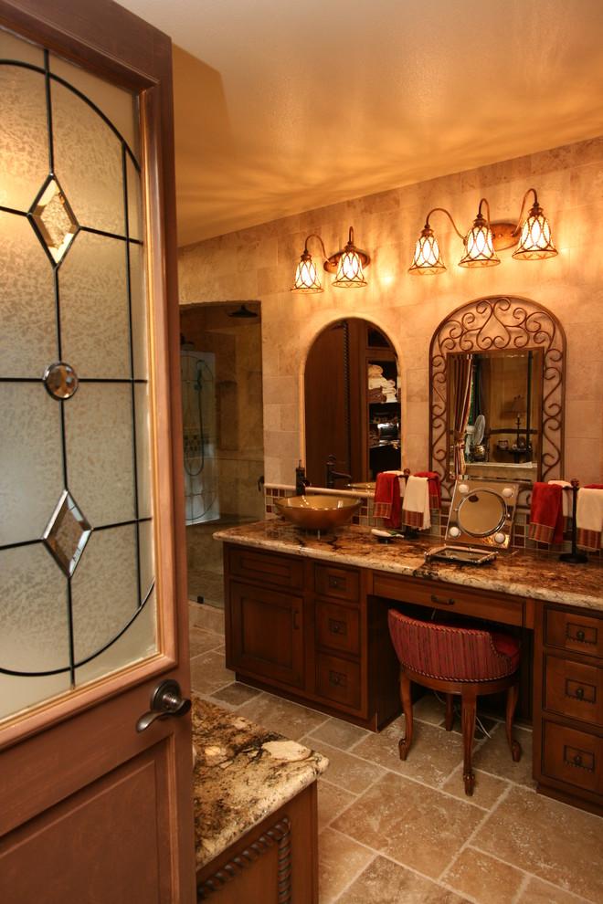 Tuscan Master Bathroom Suite in Santa Ana, CA ...