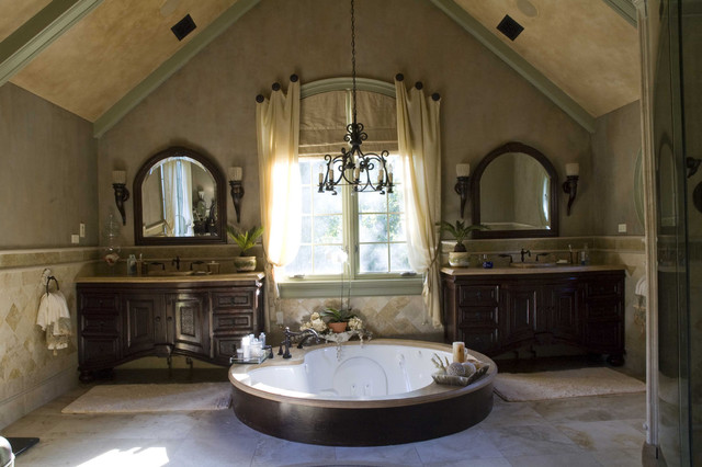 Tuscan Project Mediterranean Bathroom Chicago By Letitia Holloway