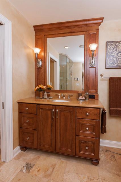 Tuscan Spa Bath traditional-bathroom