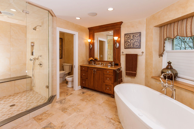 Tuscan Spa Bath Traditional Bathroom Milwaukee By