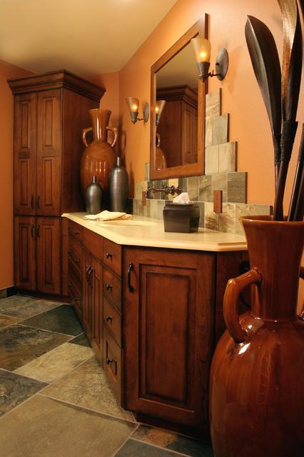 Tuscan Style Bath Mediterranean Bathroom Portland By Janel Campbell Ckd Cbd Caps Neil