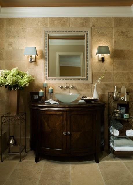 Tuscan Twist eclectic-bathroom