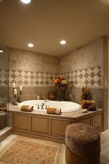 Tuscan Villa Traditional Bathroom Tampa By