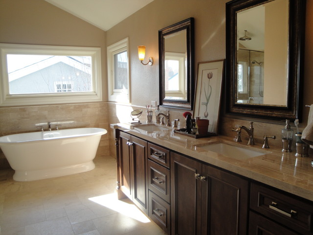 Tuscany Bathroom Remodel In San Juan Capistrano Traditional Bathroom Orange County By