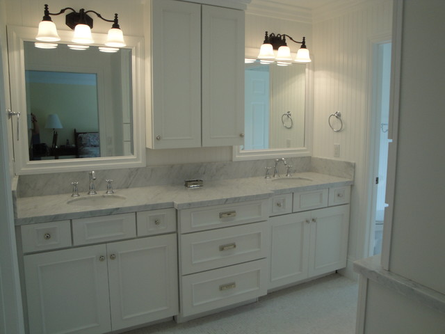 Tuscany Estate Kitchen in Villa Park traditional-bathroom