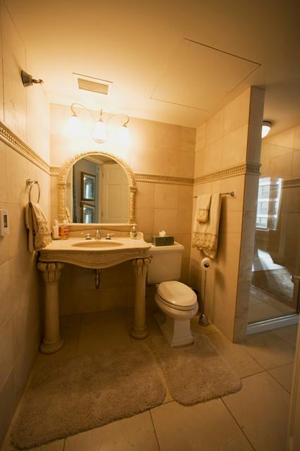 Tuscany Style Bathroom