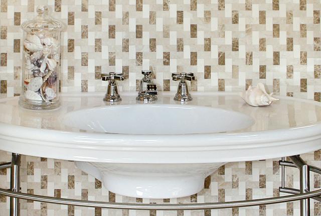 Tweed Bathroom contemporary-bathroom