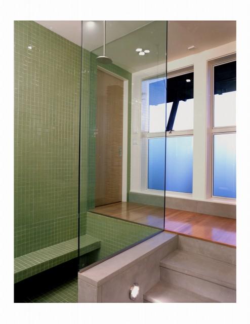 Twin Peaks Residence - Sunken Bath modern-bathroom