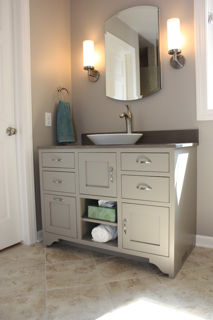 Two Vanity Bathroom contemporary-bathroom
