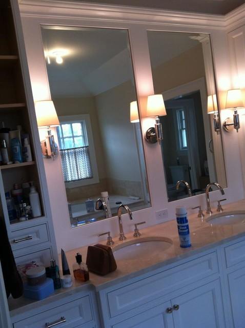 U.S.FRAMLESS GLASS SHOWER DOOR modern-bathroom