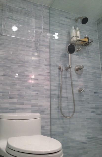 UES Modern Bathroom Renovation contemporary-bathroom