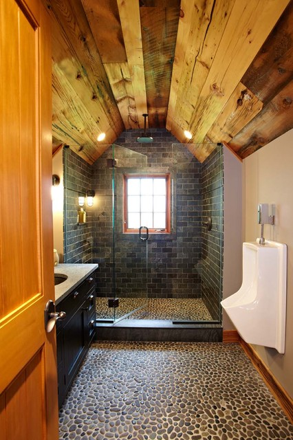 Ultimate man cave and sports car showcase traditional for Ultimate bathrooms