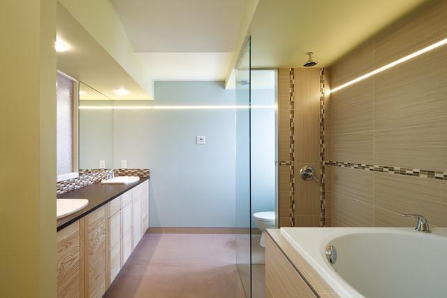 Ultra Efficient Green Buildings contemporary-bathroom