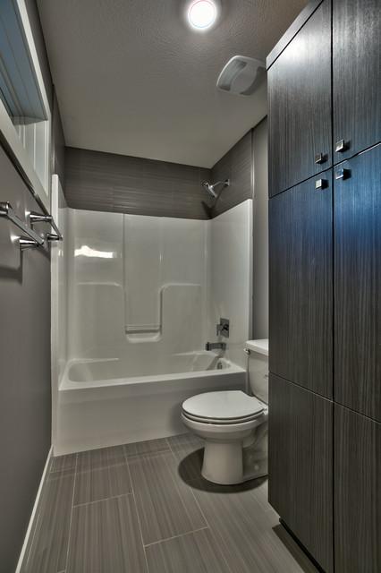 ultra modern 1 5 story martin modern bathroom omaha