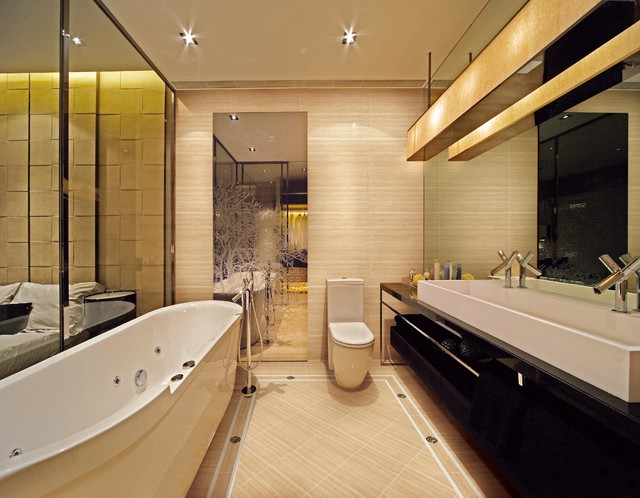 Ultra modern bathroom modern bathroom san diego by for Ultra modern bathroom