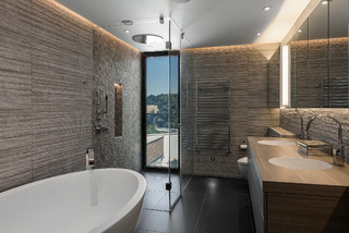 Ultra Modern Hertfordshire Home Contemporary Bathroom Berkshire By Jonathan Little