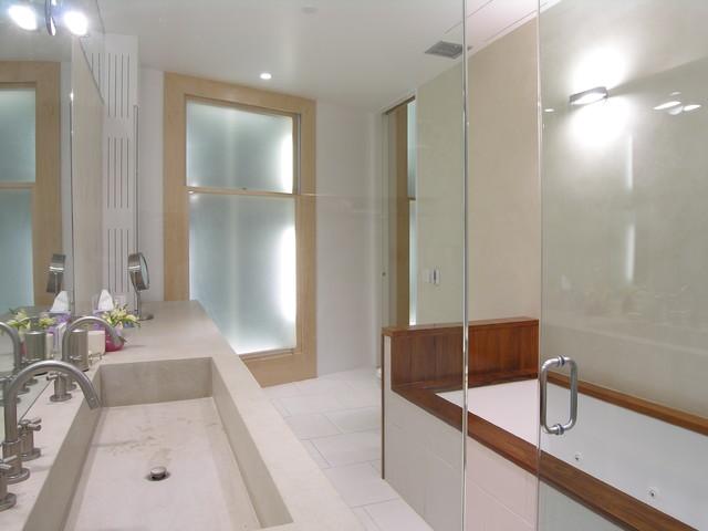 Union Square Loft Modern Bathroom New York By Paul Cha Architect