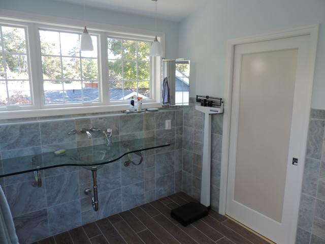Unique Addition, Kitchen, Master bath, Roof Deck contemporary-bathroom