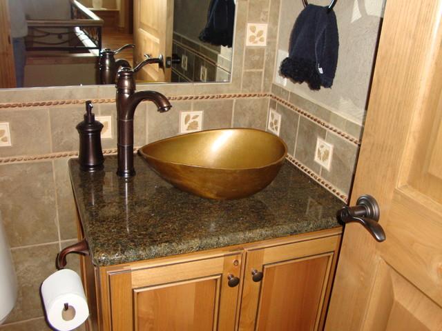 Unique bathroom vanity traditional-bathroom