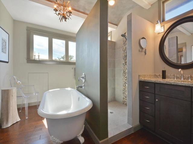 Unique Modern Craftsman Green Home In Buda Texas Craftsman Bathroom Austin By Austin