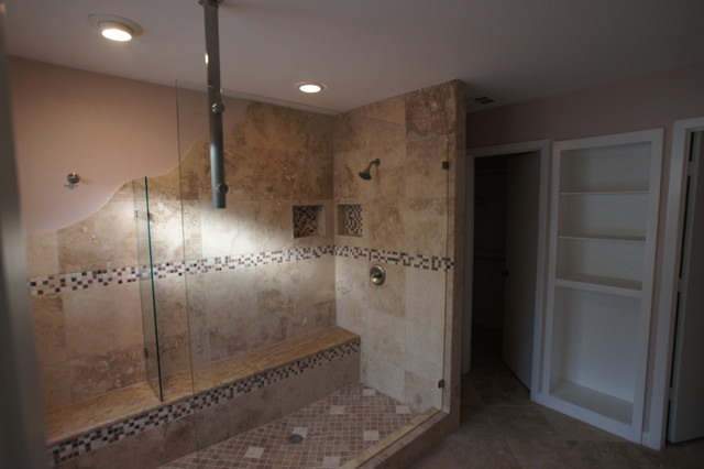 Shower In Plano Traditional Bathroom Dallas By Frameless Glass