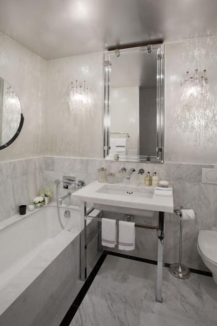 Bathroom Wallpaper Ideas. Saveemail. 135 Best Bathroom Design