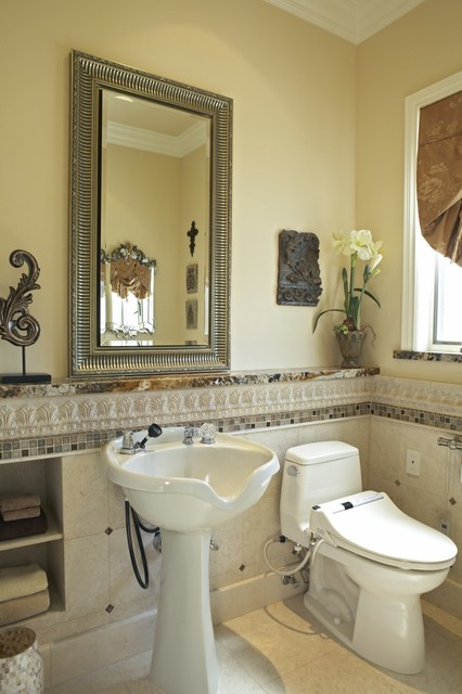Universal ADA Accessible Toilet Room   Luxury Master Bathroom Suite  Traditional Bathroom
