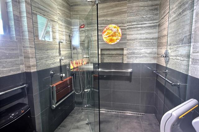 Universal Design Bath Contemporary Bathroom Hawaii By By Design Builders