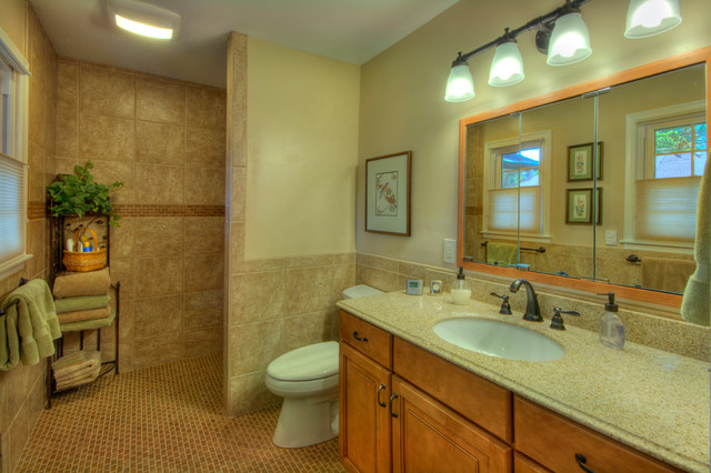 universal design bathroom  traditional  bathroom  kansas city, Home designs