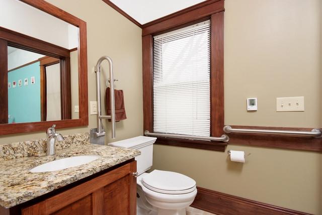 Universal Design bathroom traditional-bathroom